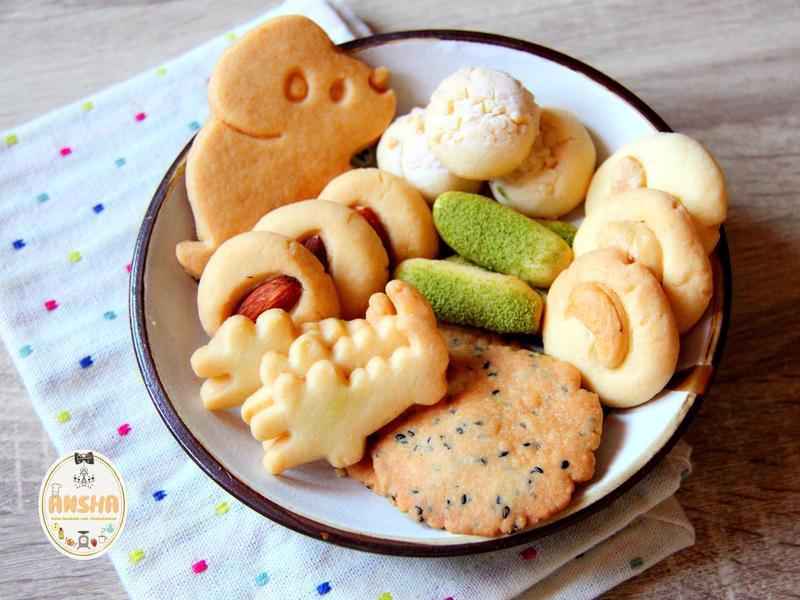 只要3種食材【萬用基礎餅乾】