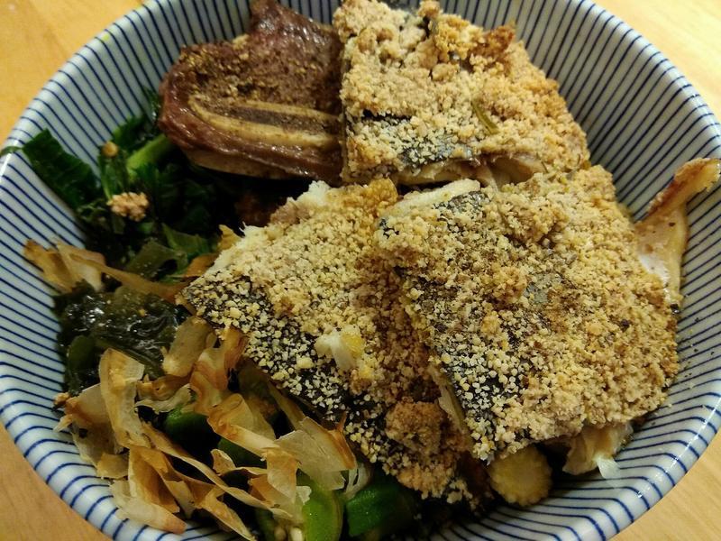 《生酮低醣》脆皮鯖魚排+海鮮酥炸粉不用炸