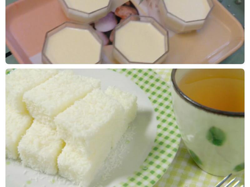 牛奶雪花糕