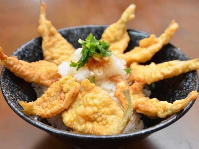 沙梭天婦羅丼飯 鱚天丼