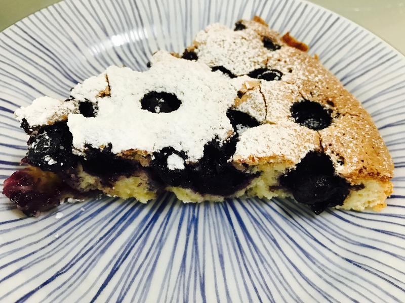 夏日清爽:檸檬藍莓蛋糕