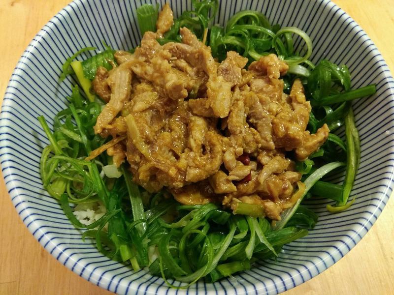 《低醣生酮》京醬肉絲~一餐一道菜