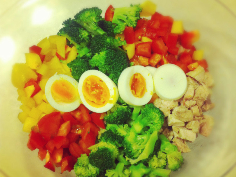 ♫*敲敲屋♫ 簡易蔬菜沙拉--夏天的最愛!