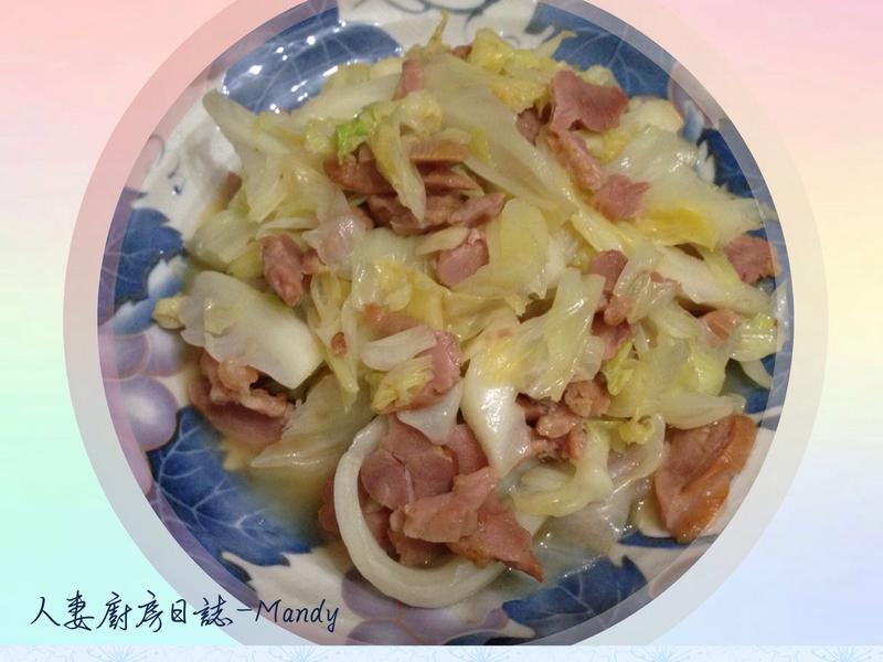 鴨賞高麗菜