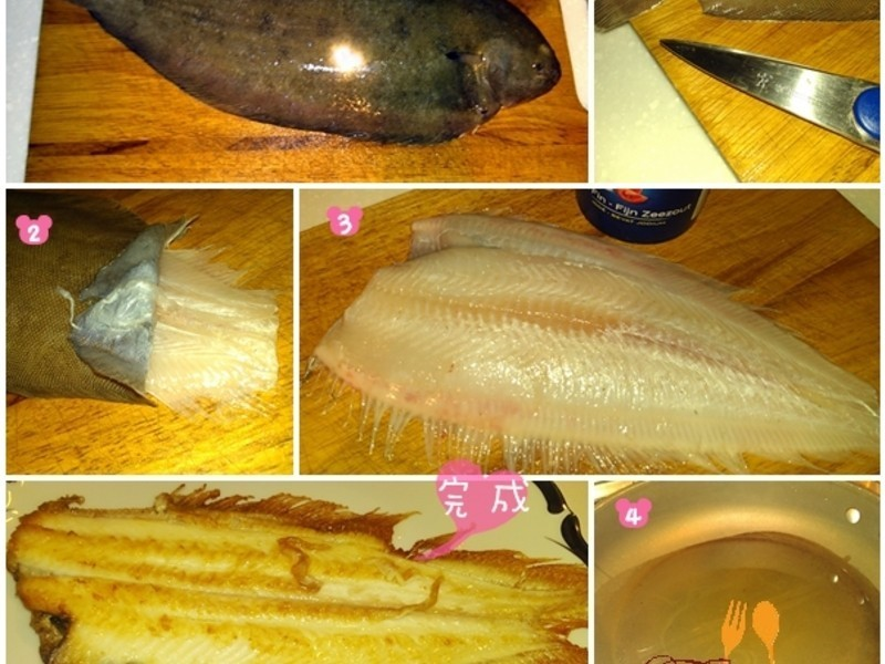 香煎多佛魚排 Dover sole