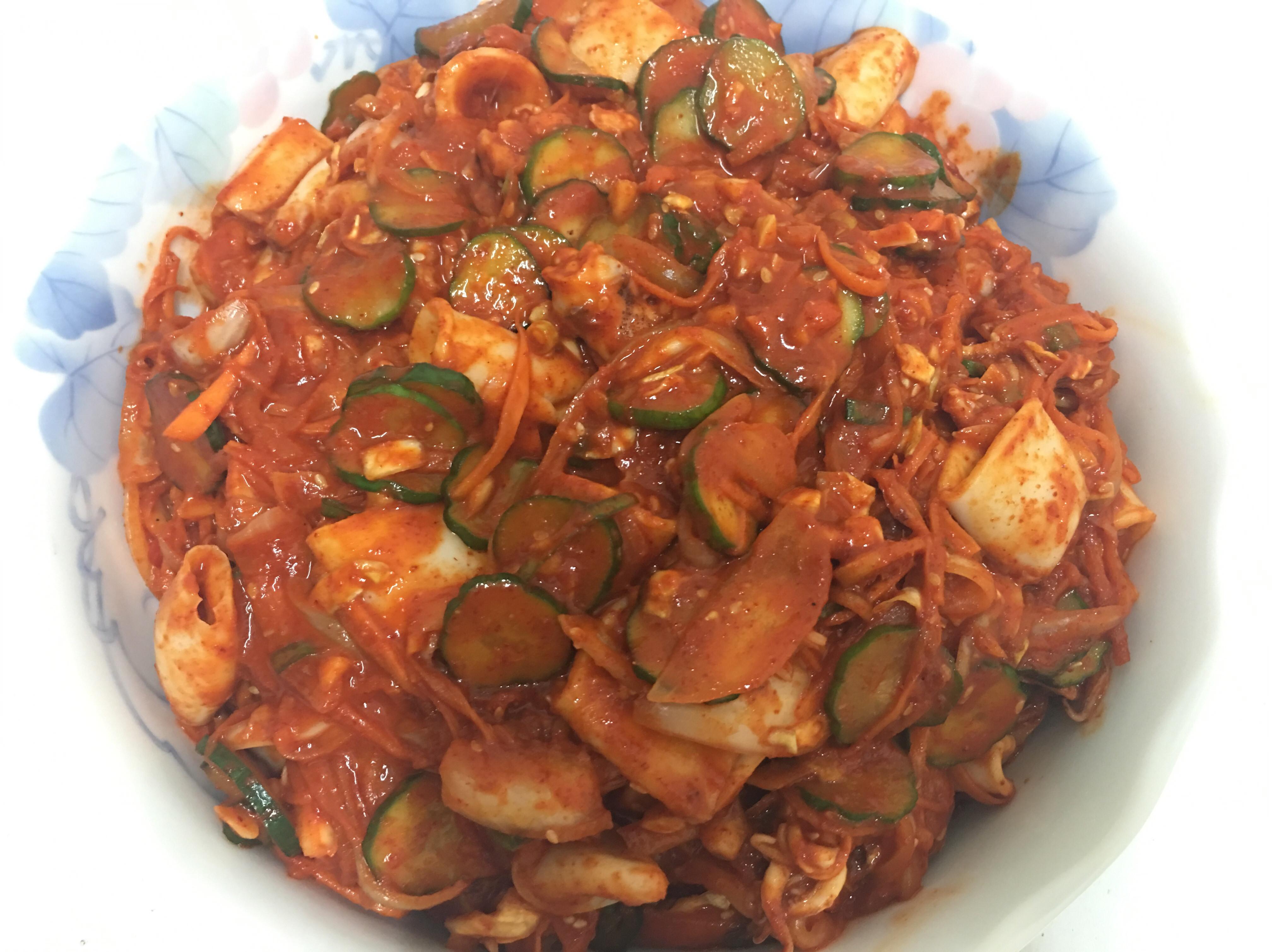 韓式辣炒章魚