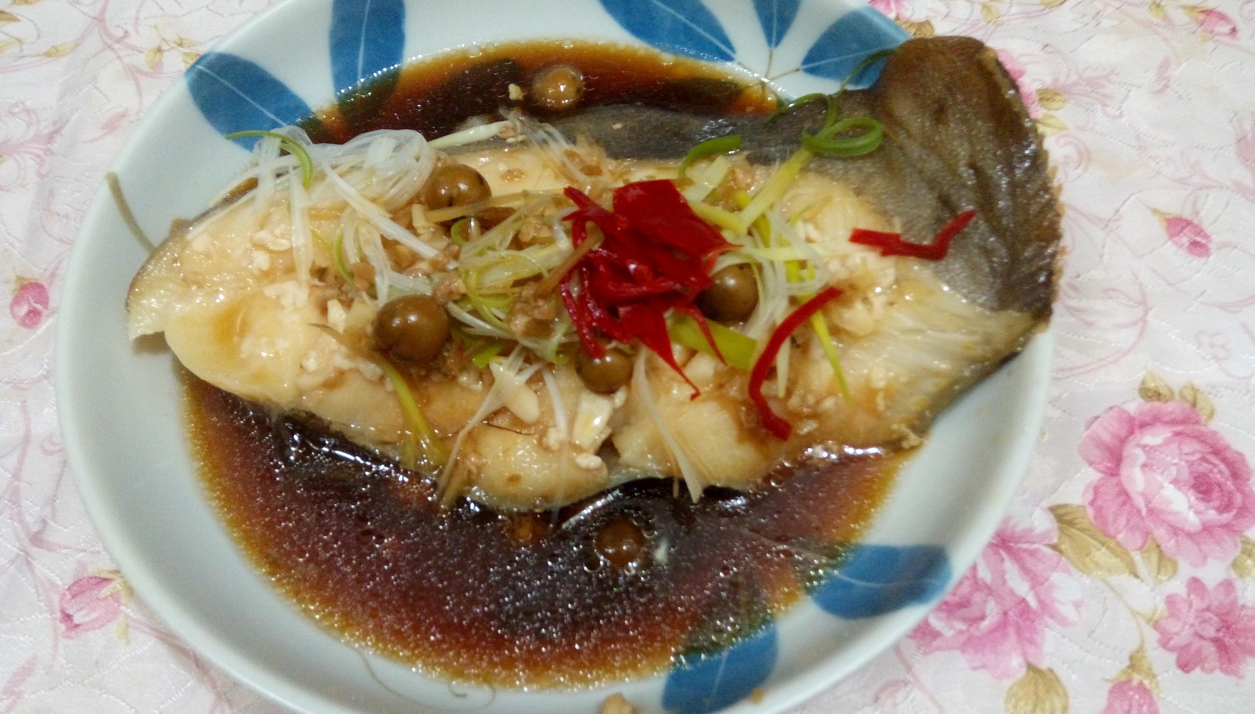 甜酒釀蒸鱈魚