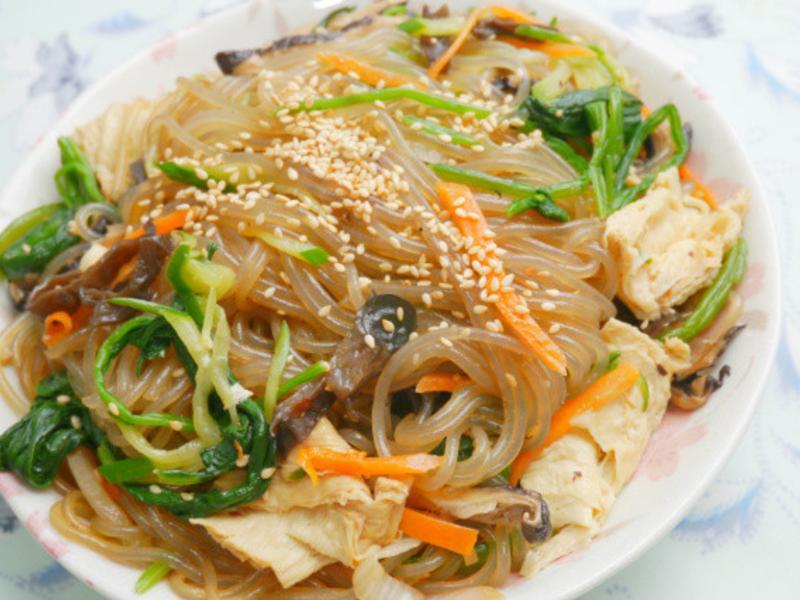 韓式涼拌蔬菜冬粉