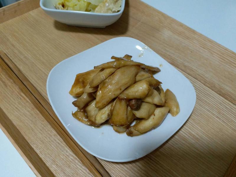 零廚藝-五分鐘完成奶香醬汁杏鮑菇