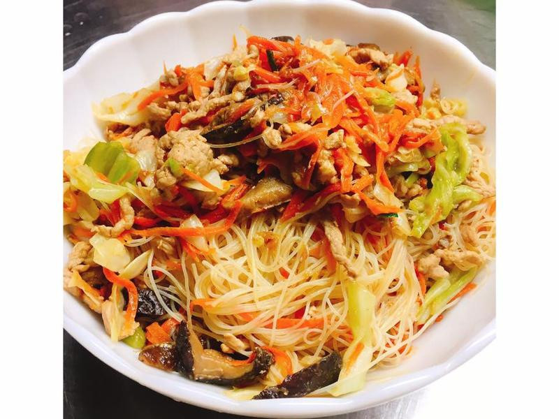 【隨興料理】台式炒米粉