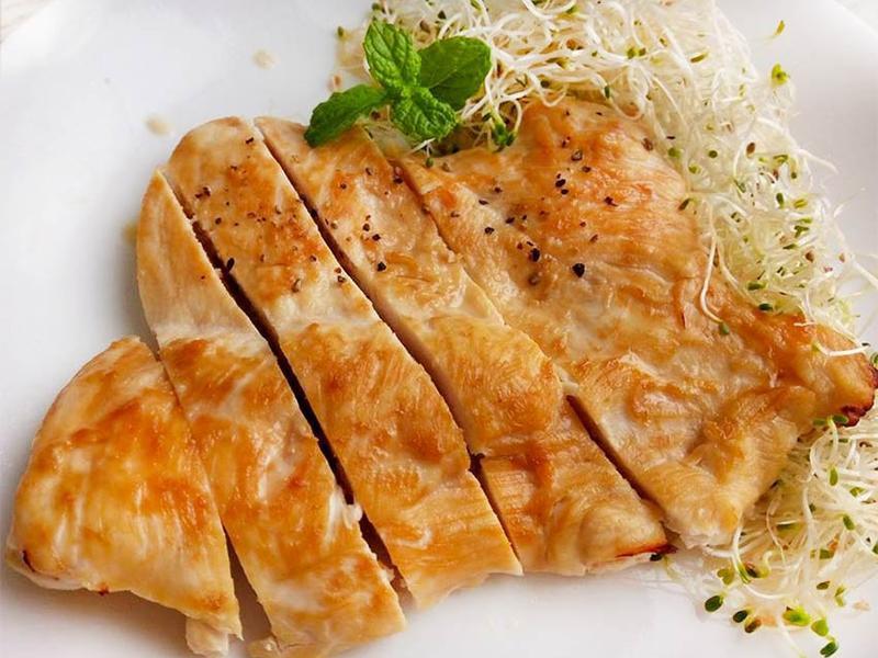 蜜醬烤雞胸♥軟嫩不柴的烤雞胸料理