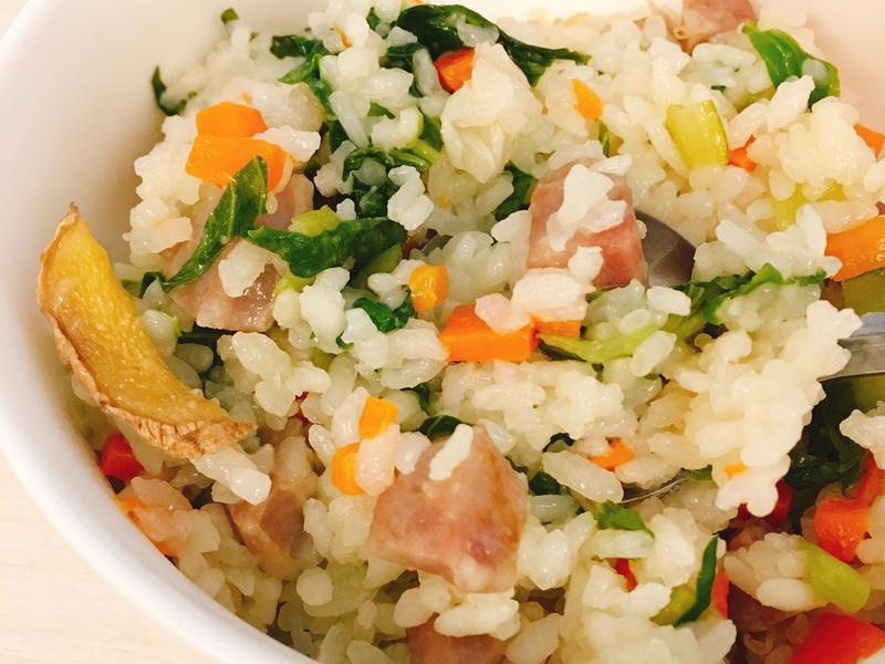 一鍋到底 · 鍋燒上海菜飯