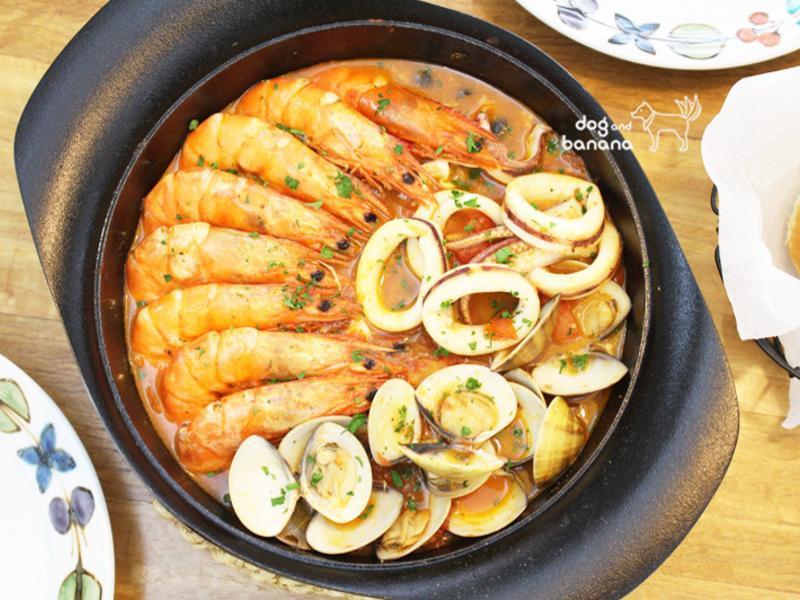 義式風情燉煮海鮮