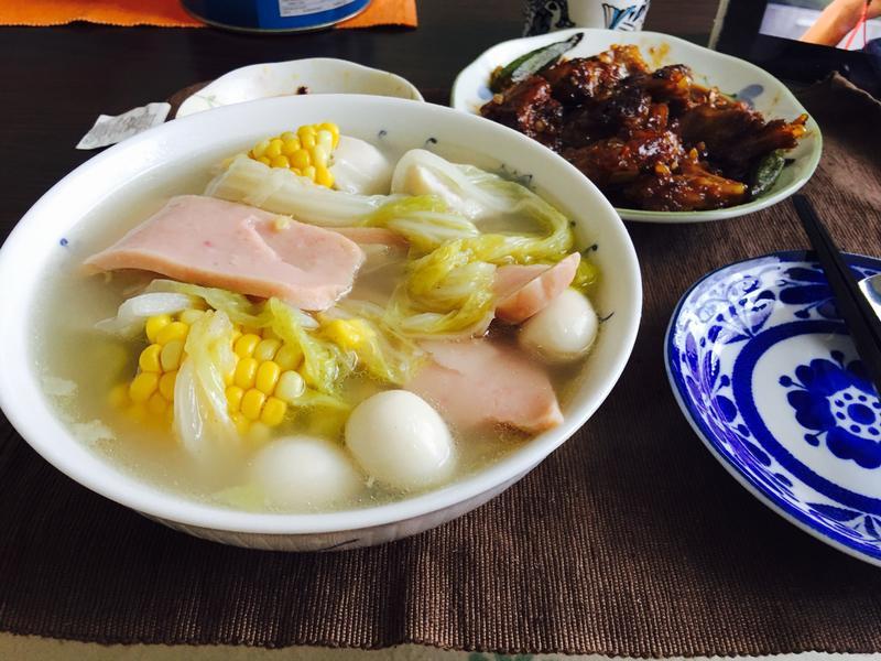 玉米蔬菜汤