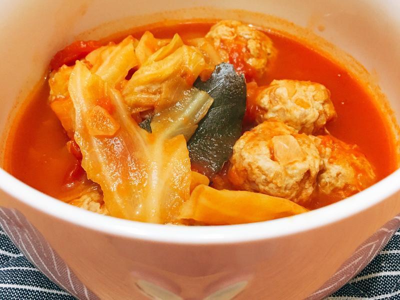 茄汁燉肉球(清爽)