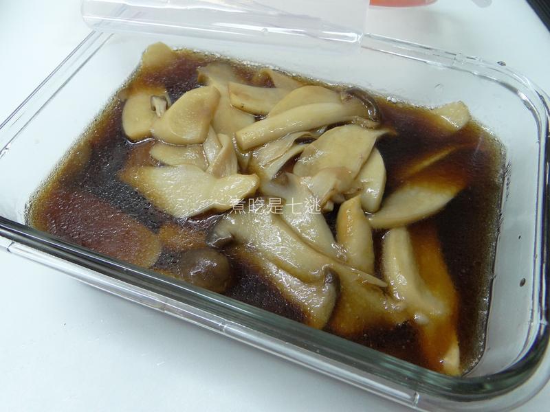 醬蜜杏鮑菇+壽喜燒