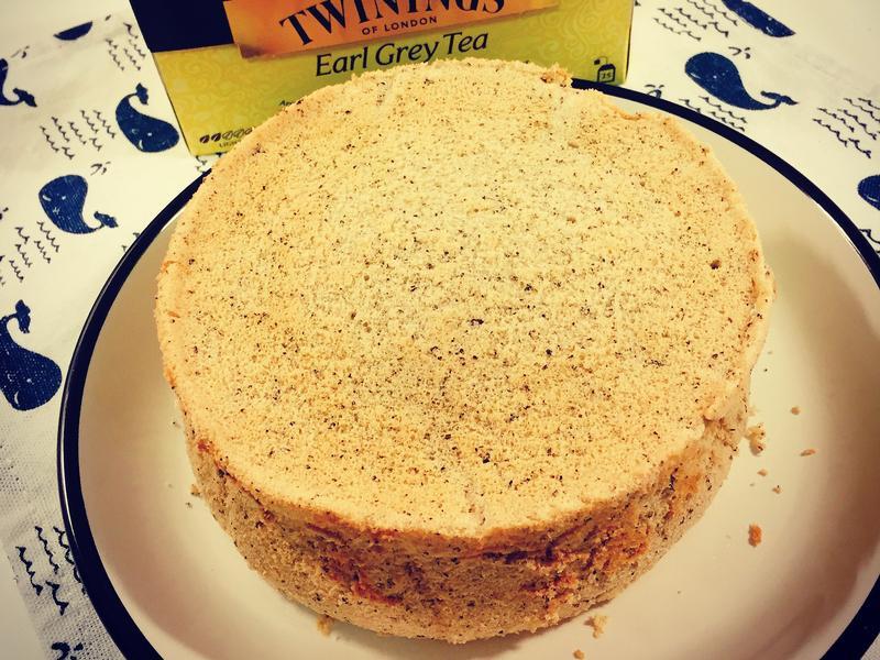 !更新食譜!伯爵紅茶戚風蛋糕·鬆軟減糖版