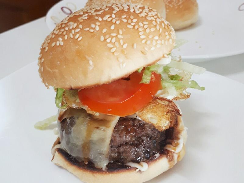 牛肉漢堡肉
