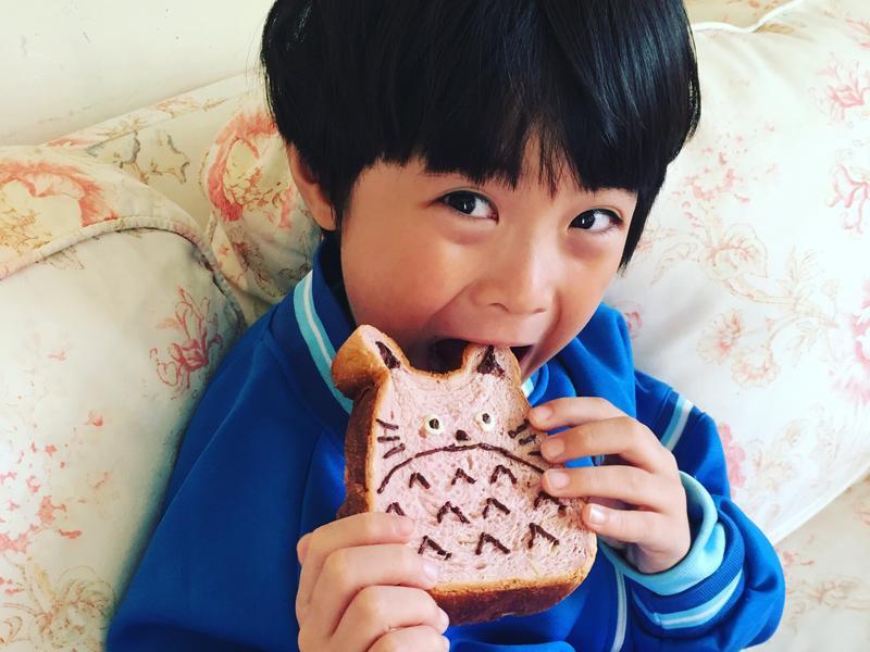 小李子❤️早餐~龍貓吐司