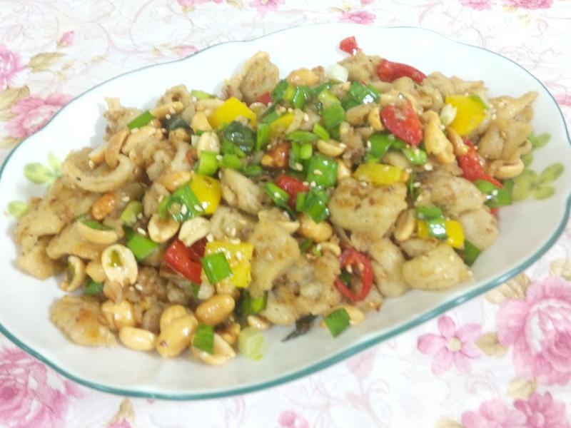鹹酥麵腸(玫瑰胡椒鹽)