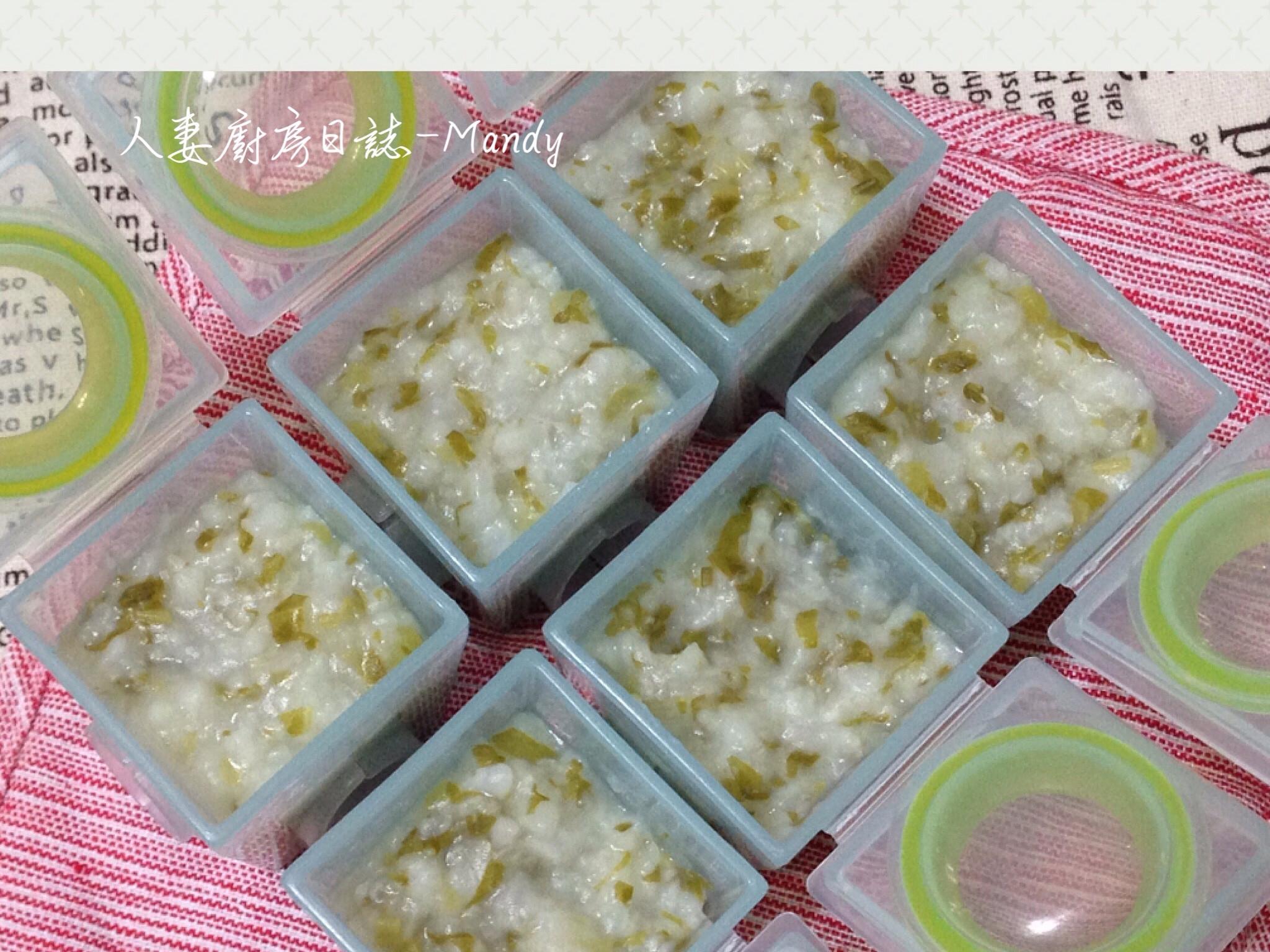 副食品-白莧菜寶寶粥(8M~)