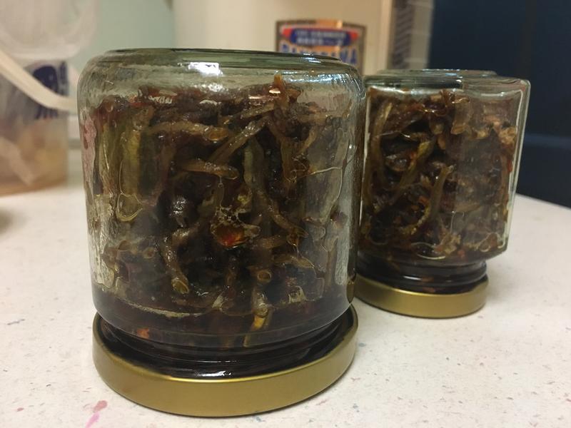 辣炒小魚乾醬(辣椒醬變化)