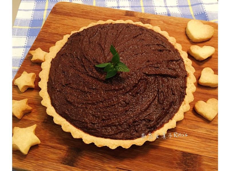 馬斯卡澎黑巧克力派