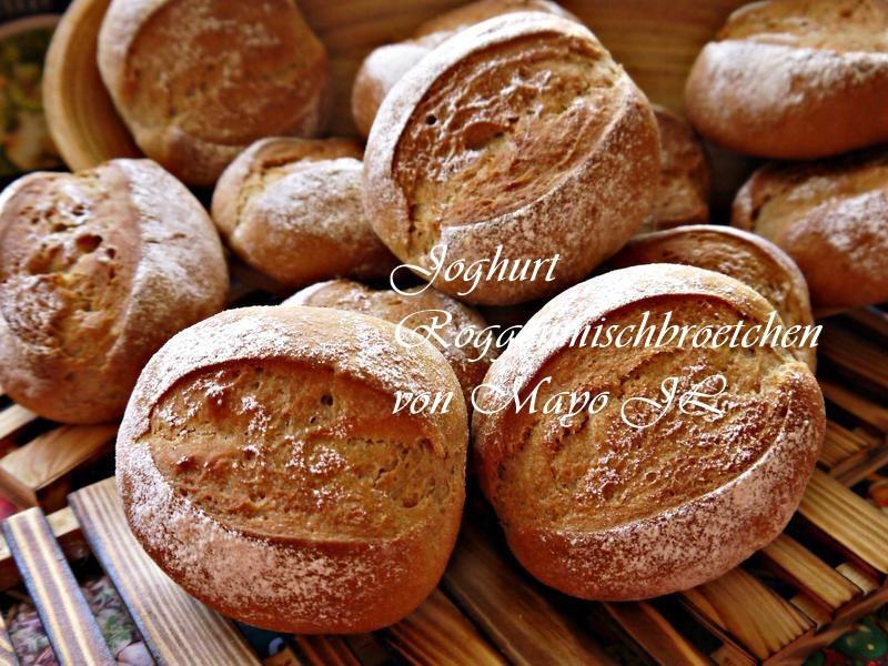 德國 優格黑麥小麵包