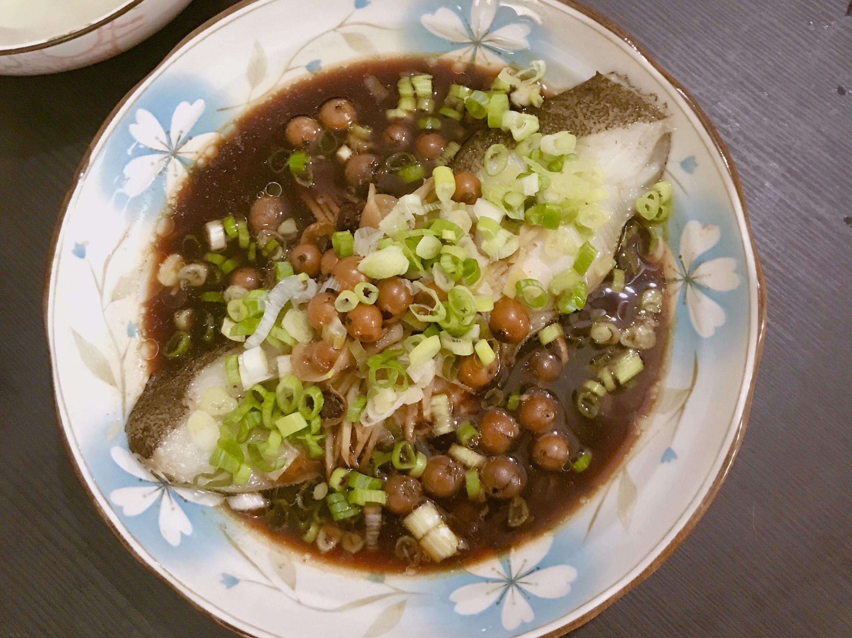 蒸破布子鱈魚