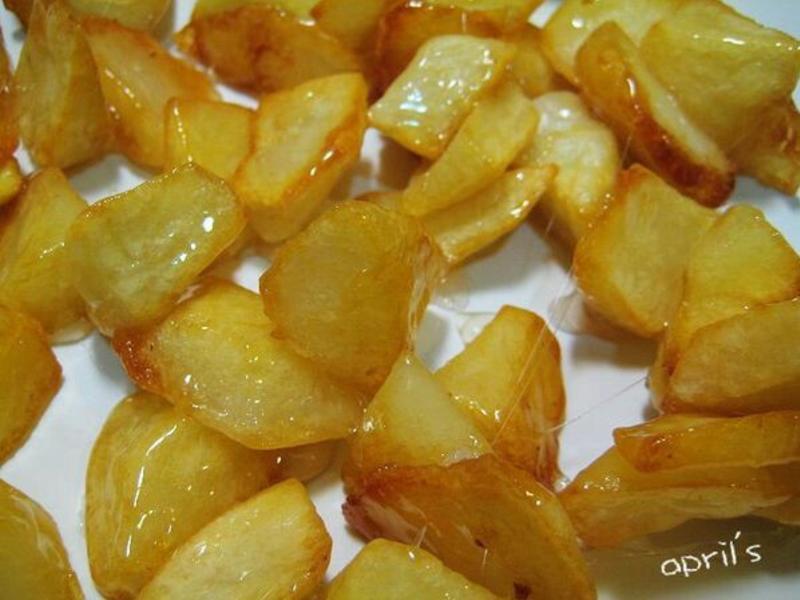 玻璃洋芋(拔絲馬玲薯)