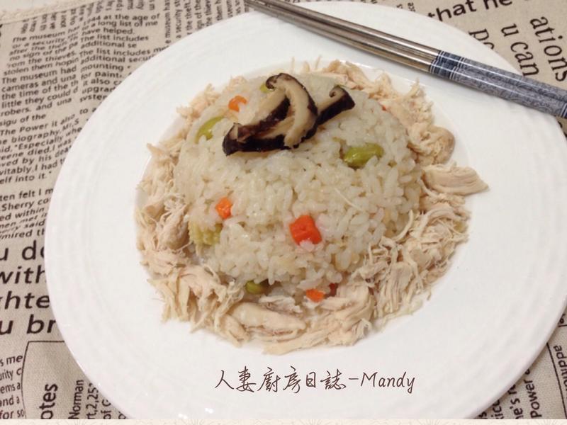 香菇雞絲炊飯【史雲生】