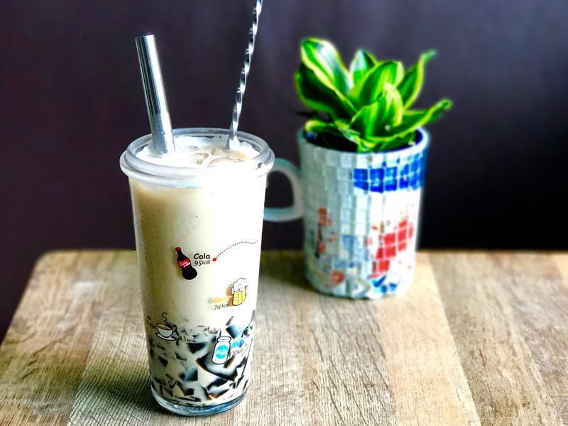 仙草咖啡Grassjelly Latte