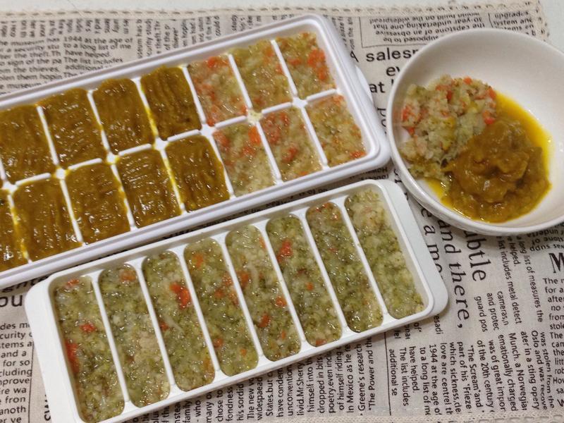 副食品-雙色花椰菜冰磚(8M~)