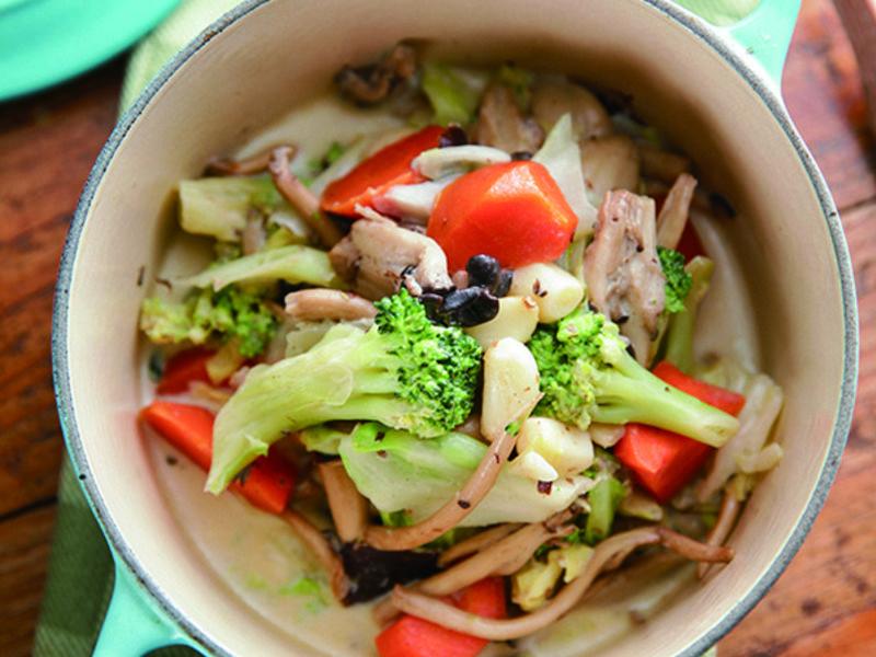蒜菇義式燉菜