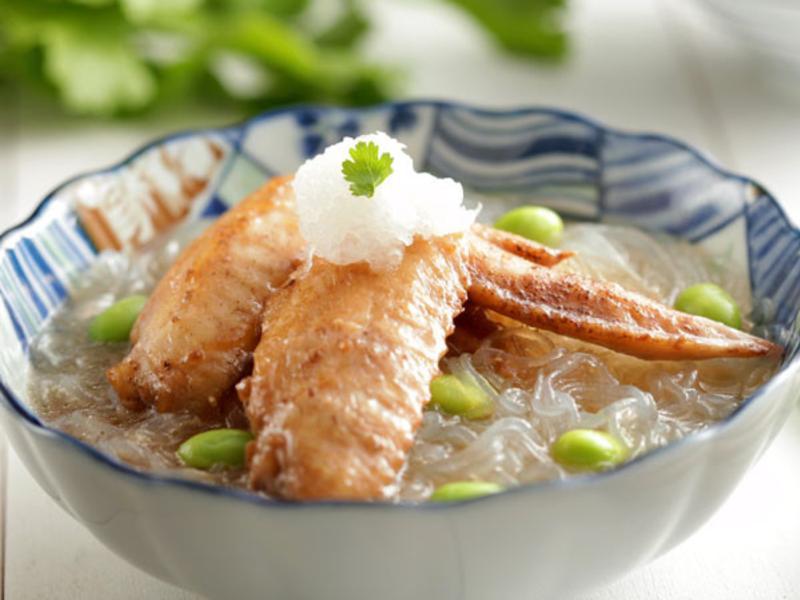 蘿蔔泥雞翅煲