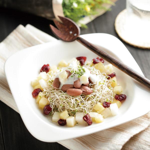 花豆蔬果沙拉(冷凍法)