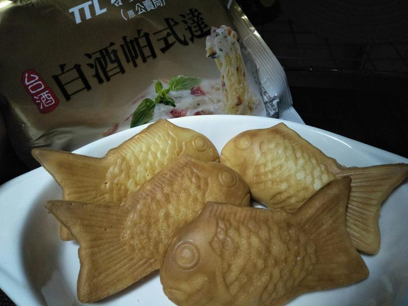 鯛魚燒麵【白酒帕式達】
