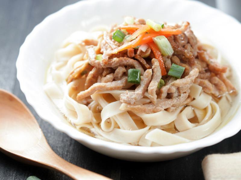 榨菜肉絲湯米籽條