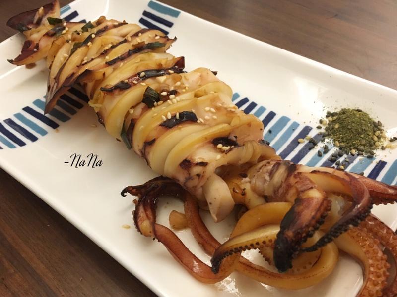 蒜味燒烤透抽(簡單、超級好吃😋)