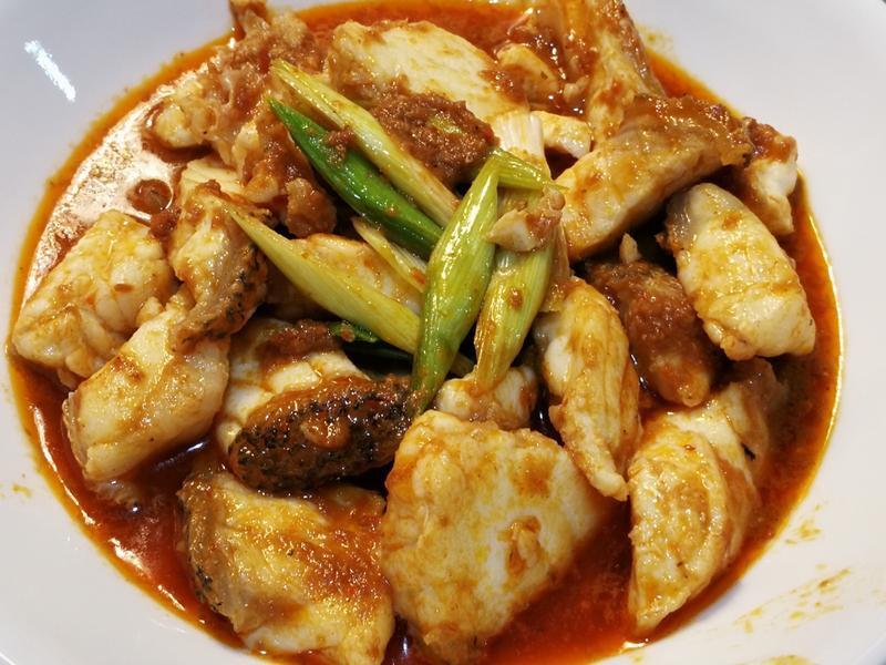 東南亞風味-叻沙(沙茶)龍膽石斑魚片