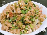 韭菜花炒絞肉