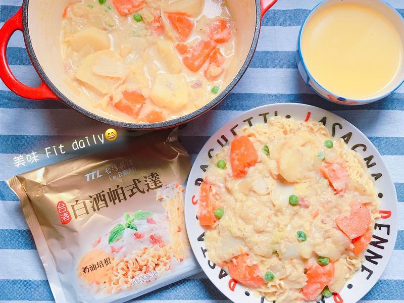 奶油燉白菜帕式達【白酒帕式達】