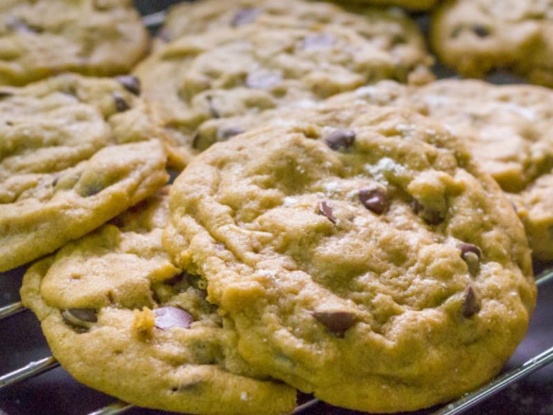 酥酥軟軟 美式巧克力豆餅乾