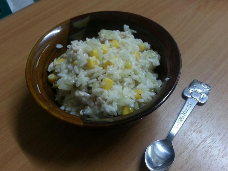 雞肉白醬燉飯