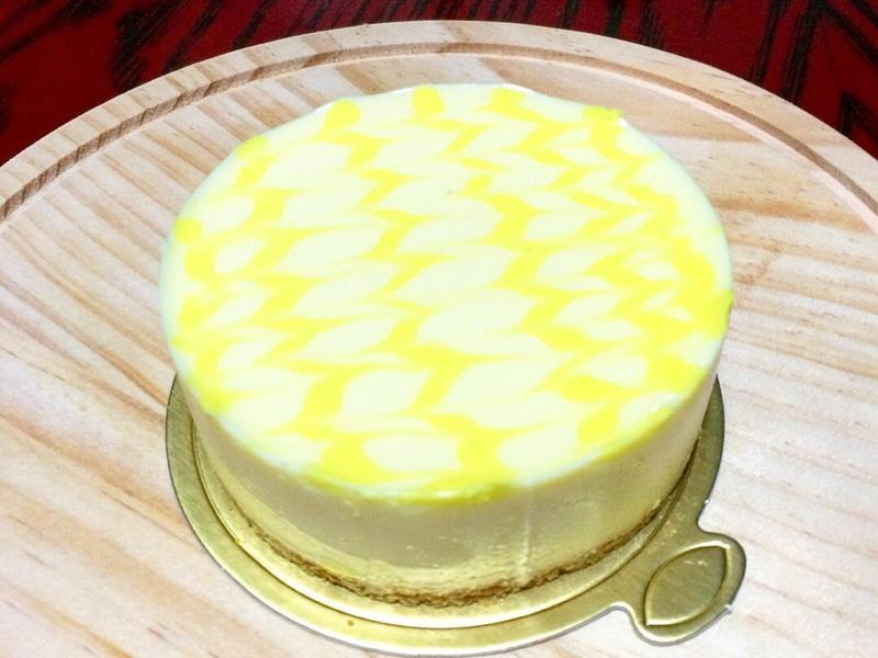 免烤箱!百香果乳酪蛋糕