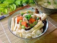 菇菇竹筍雞肉炊飯(電鍋版)