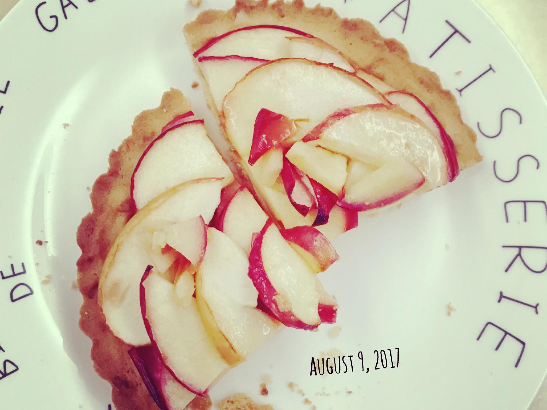 零失敗👌🏻酥皮脆脆蘋果塔派🍒
