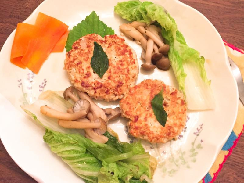 夏日清爽豆腐漢堡排(不加粉健康版)