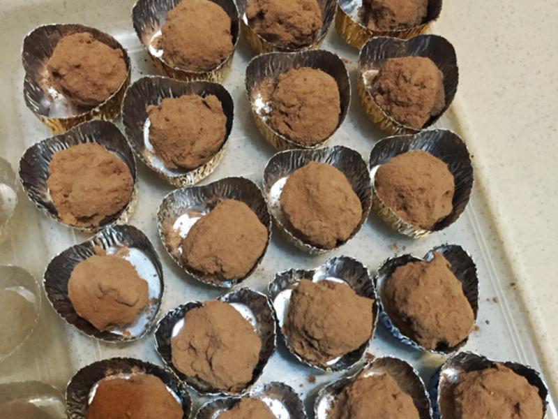豆腐松露巧克力