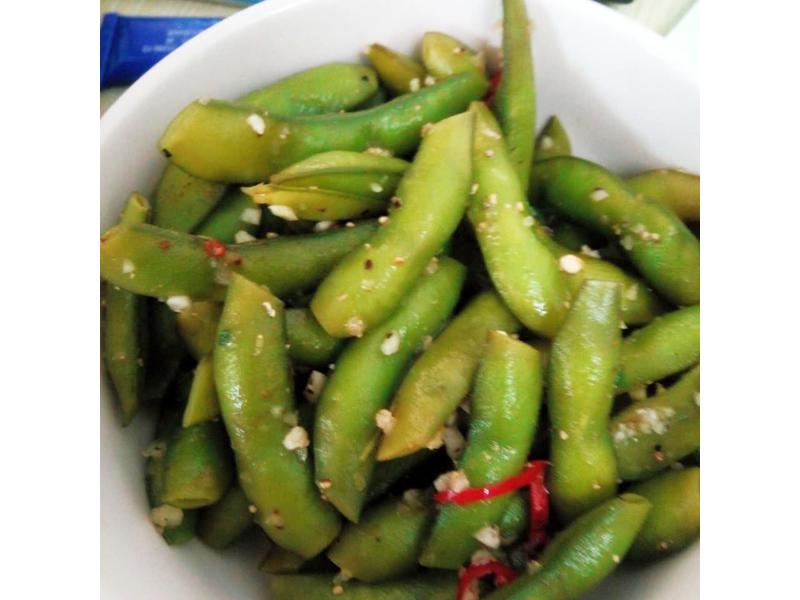 水煮毛豆(嘴饞減肥蛋白質補充)